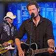 Kevin Post of Blake Shelton's Band @ the GMA's